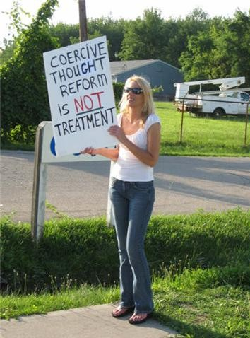 July 11, 2008 KHK/PFC Protest, Milford, Ohio